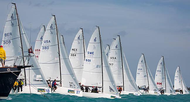 Steven Lapkin - J70 Start Key West