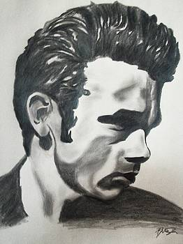 James Dean by Mikayla Ziegler