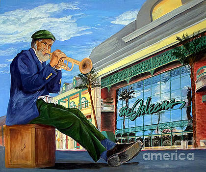 Jazz at The Orleans by Vicki  Housel