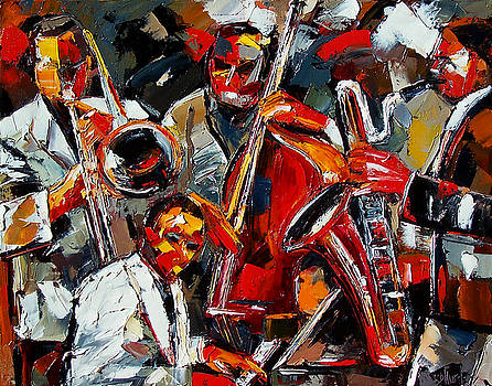Jazz Brothers by Debra Hurd