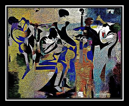 Jazzy Night  by Lynda Payton