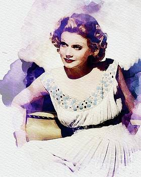 John Springfield - Jean Harlow, Vintage Actress