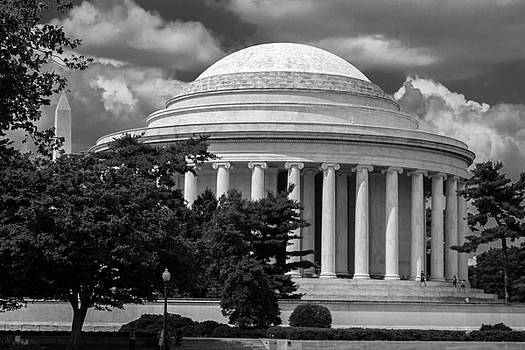 Jefferson Memorial by Samir Chokshi