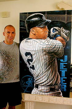 FOR SALE Jeter L E Prints available  by Sports Art World Wide John Prince