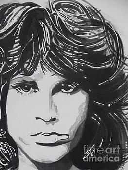 Jim Morrison  by Chrisann Ellis