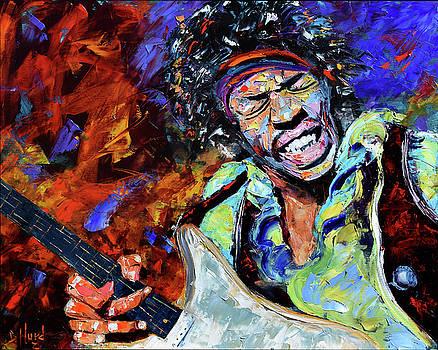 Jimi Hendrix by Debra Hurd