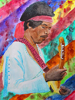 Jimi by Ron Enderland