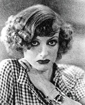 John Springfield - Joan Crawford, Vintage Actress by JS