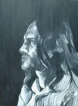 John Frusciante by Kellie Hogben