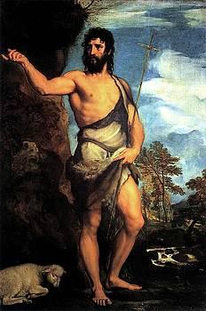 John The Baptist by Troy Caperton