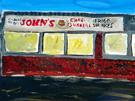Johns Burgers by Maggie Cruser