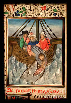 Jonah Is Thrown Into The Sea And Swallowed By The Great Fish Interpreted by Pablo Avanzini