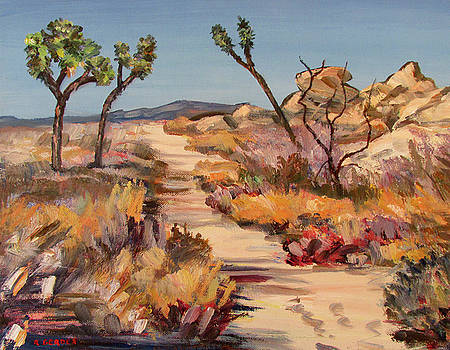 Joshua Tree Trail by Robert Gerdes