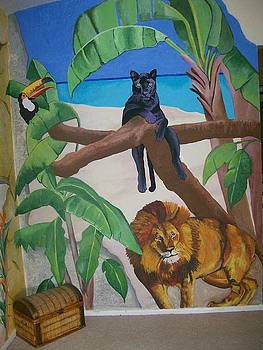 Kathleen Heese - Jungle Mural