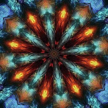 #kaleidoscope #mandala #art #digitalart by Michal Dunaj