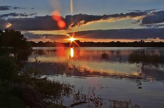 Kansas Sunset by Crystal Socha