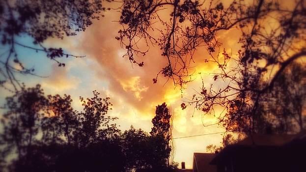 Kansas sunset by Dustin Soph
