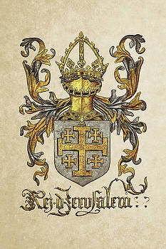Serge Averbukh - Kingdom of Jerusalem Coat of Arms - Livro do Armeiro-Mor