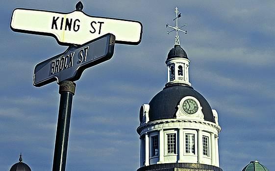 Kingston City Hall by Iris Russak
