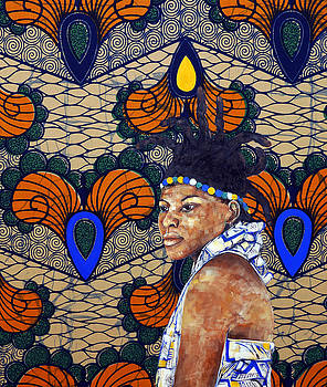 Kitenge Background Series by Ronex Ahimbisibwe