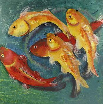 Koi Fish by Seema Varma