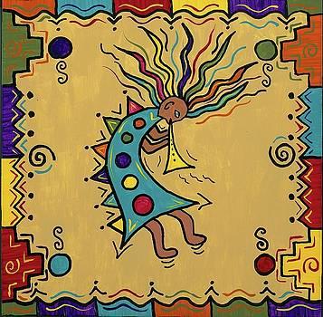 Kokopelli Dance by Susie WEBER