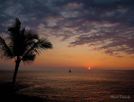 Kona Sunset by Mark Dahmke