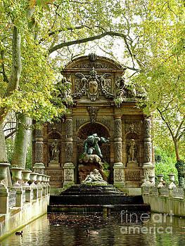 La Fontaine de Medicis by Alex Cassels