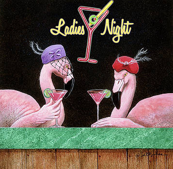 Will Bullas - ladies night out...
