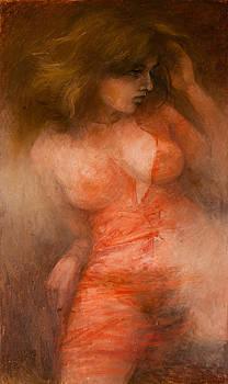Lady in Red by Elisabeth Nussy Denzler von Botha