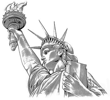 Lady Liberty by Greg Joens