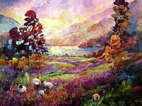 Lake Bala, Wales by Bonny Roberts
