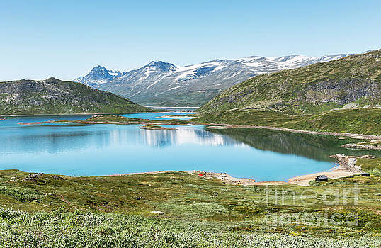 Lake In National Park In Norway by Compuinfoto