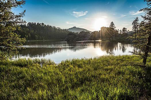 Lake Sylvan at Sunset by Benjamin Sullivan