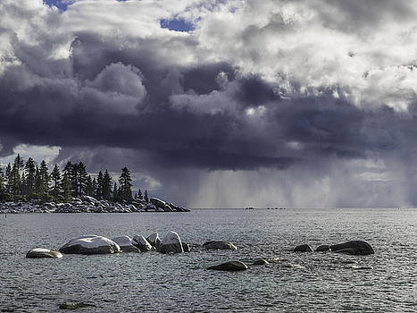 Lake Tahoe Storm by Martin Gollery