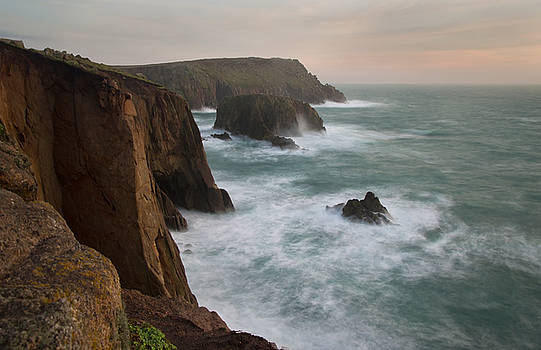 Lands End at dusk by Pete Hemington