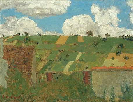 Landscape Of The Ile-de-France by Edouard Vuillard
