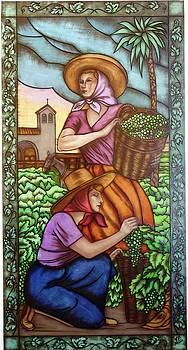 Las vendimiadoras by Justyna Pastuszka