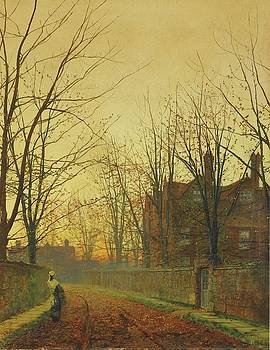 Late October by John Atkinson Grimshaw