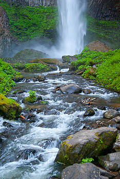 Latourell Falls by Sharon Crawford