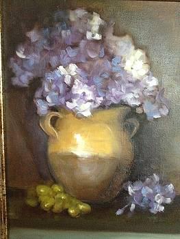 Lavender Ice by Cynthia Mozingo