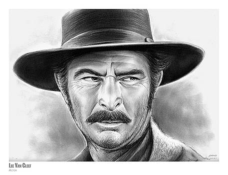 Lee Van Cleef by Greg Joens