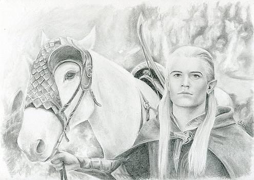 Legolas Greenleaf by Bitten Kari
