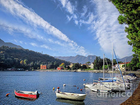 Lenno.Lake Como by Jennie Breeze
