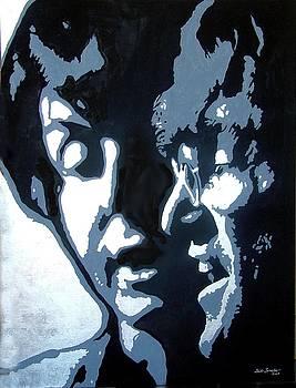 Lennon and McCarthy by Gail Zavala