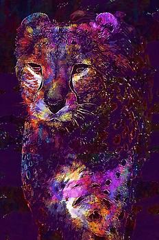 Leopard Predator Animal Feline  by PixBreak Art