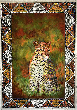 Leopards by Carol J  South