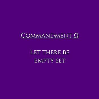 Let there be empty set by Piece of Infinity