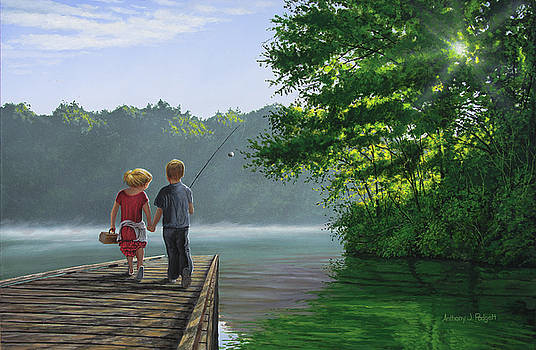 Let's Go Fishing by Anthony J Padgett