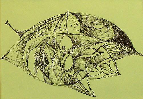 Life inside a leaf - the secret story by Cristina Rettegi